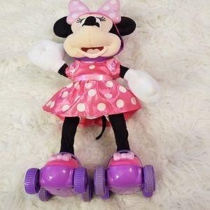 Disney Minnie Mouse On Rollerskates